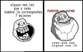 Meme Le - memes y chistes de forever alone imagenes chistosas
