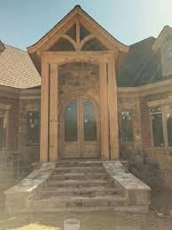 Hamill Creek Timber Homes Sugarloaf 29 Best Timber Frame Entrance Images On Pinterest Front Entry