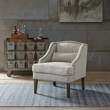 Arm Accent Chair Baylor Swoop Arm Accent Chair Grey Multi See Below
