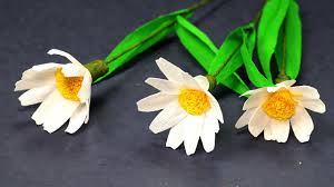 diy paper craft easy paper flower tutorial