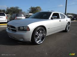 bright silver metallic 2006 dodge charger r t exterior photo