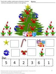 christmas christmas printables cut and paste letter match puzzle