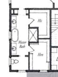 Smallest Bathroom Floor Plan I Like This Master Bath Layout No Wasted Space Very Efficient