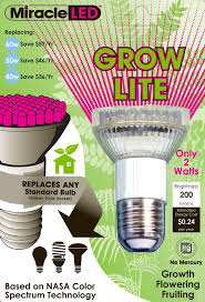 miracle led indoor seed starting plant growing spot light grow