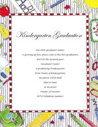 kindergarten graduation invitations kindergarten graduation invitations templates clip wording