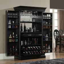Furniture Wine Bar Cabinet Furniture Portable Rolling Home Bar Cabinet With Wine Storage And