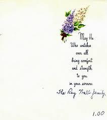 sympathy card etiquette elegantwoman org