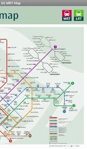 Singapore Metro Map by Singapore Mrt Map Singtel