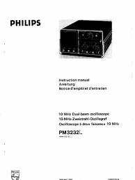 philips pm3232 service manual et