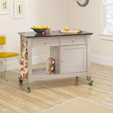 original cottage mobile kitchen island cart 414405 sauder