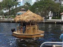 Tiki Hut On Water Vacation The
