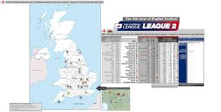 england 2015 16 league two 4th division location map with 14