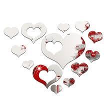 Heart Home Decor Online Get Cheap 3d Heart Home Decor Aliexpress Com Alibaba Group