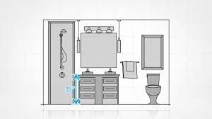 design your bathroom décor lesson design your bathroom by the numbers cbc
