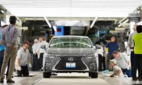 lexus lincoln jobs at lexus u0027 u s plant cars get caressed