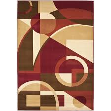 8 11 Rug Shop Safavieh Porcello Jackson Red Multi Rectangular Indoor