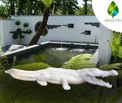 animaux resine jardin crocodile en résine u2013 jardin pro alsace u2013 animaux en résine