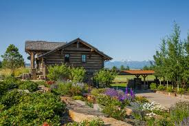 Mountain Landscaping Ideas with Timber Frames Rustic Landscape Other By Rocky Mountain Homes