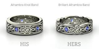 wedding ring sets for him and celtic celtic wedding ring