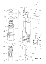 patent us8646476 integrated kitchen faucet side spray and
