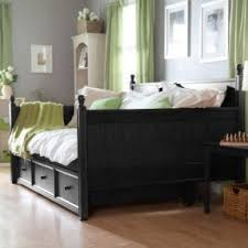 Black Daybed With Trundle Size Kid Bed Foter