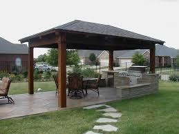 Home Outdoor Kitchen Design Interesting Outdoor Kitchens Plans 12 Kitchen Layout Design Ideas