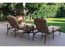 Santa Barbara Wicker Patio Furniture - darlee outdoor living granite top cast aluminum 28 square end