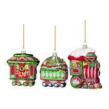 25 glass train christmas ornaments toy train center