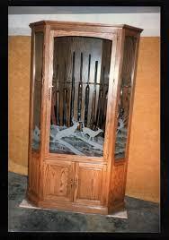 Free Wooden Gun Cabinet Plans Gun Cabinet By Nd2elk Lumberjocks Com Woodworking Community