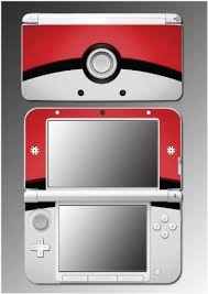 amazon nintendo 3ds xl black friday pokemon pokeball pikachu movie cartoon video game vinyl decal
