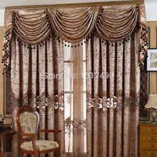 Curtains Set Curtains And Valances Sets Brown Valance Curtains Brown Valances