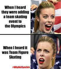 Ashley Wagner Meme - angie goldman on synchronized skating and ashley wagner