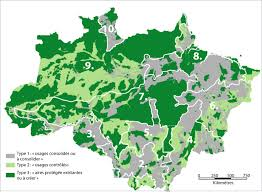 Map Of The Amazon River Is Brazil Now In Control Of Deforestation In The Amazon