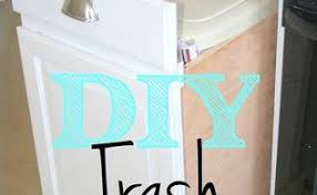 Kitchen Cabinet Trash Diy Pull Out Trash And Recyling Bin Hometalk