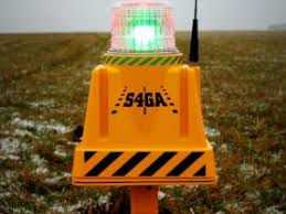 Solar Powered Runway Lights by Airport And Helipad Lighting S4ga