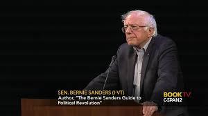 bernie sanders guide political revolution aug 31 2017 c span org