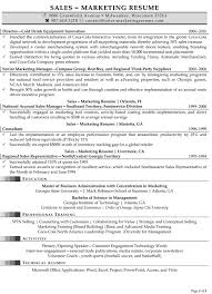 Sample Resume Objectives For Trades by Resume Samples For Sales And Marketing Jobs