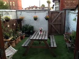 garden complete with astroturf outdoor pinterest astroturf