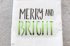 diy christmas tea towels tutorial lydi out loud