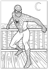 kidscolouringpages orgprint u0026 download spiderman printable