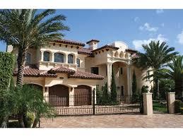 southwestern houses exteriors for mediterranean homes house plans santa fe house