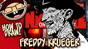 how to draw freddy krueger a nightmare on elm street narrated