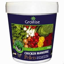 growise chicken manure pellets 10kg arboretum garden centre ltd