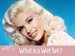 wetset hair styles what is a wet set vintage current