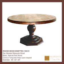Copper Top Dining Room Tables Round Wood Dinette Hammered Oxidized Copper Top Vintage Silver