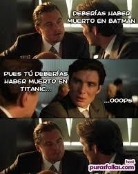 Leonardo Di Caprio Meme - otro meme de leonardo dicaprio y cillian murphy puras fallas