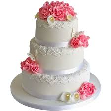 wedding cake online 3 tier pink wedding cake online zoganto