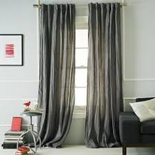 gray curtains just got a pair at lowes just like these 15 per