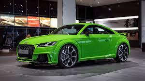 porsche viper green vs signal green vwvortex com 2017 audi tt rs coupe u0026 roadster revealed in