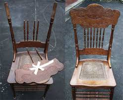 Antique Chair Repair Artisans Of The Valley Restoration Gallery Golden Oak Page 1